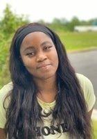A photo of Michaela, a tutor from Washington Adventist University