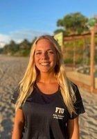 A photo of Maria Clara, a tutor from Florida International University